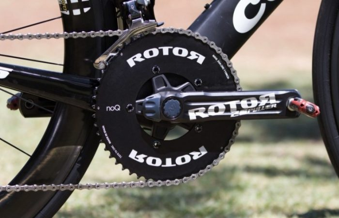 Close-up of ROTOR 2INpower Power Meter