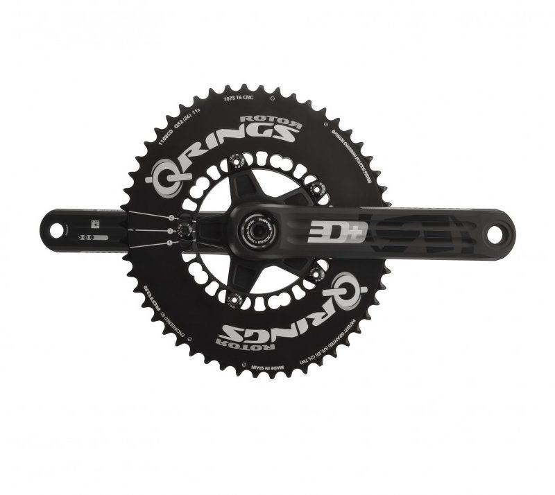 ROTOR INpower 3D+ with ROTOR Q-Rings