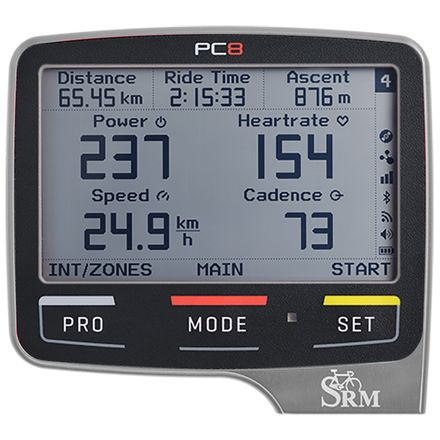 SRM PowerControl 8 - Polished Silver
