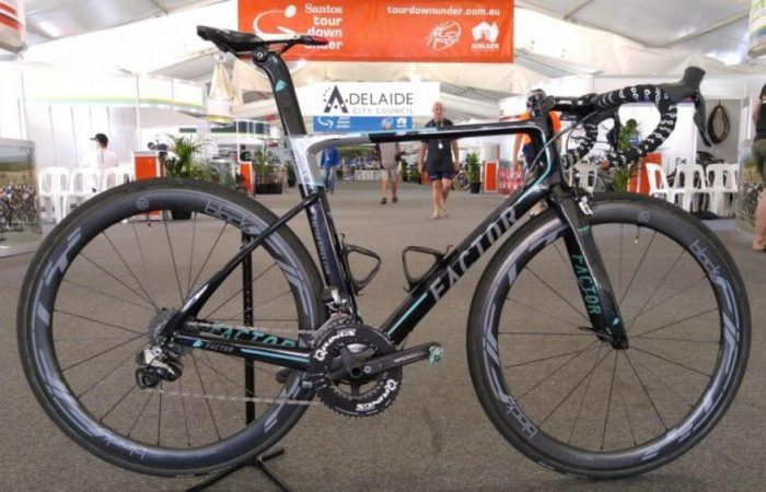 Picture of a Factor ONE bike with a Verve InfoCrank