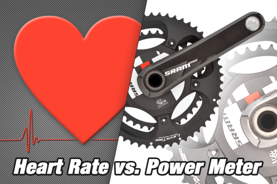 heart rate vs power meter