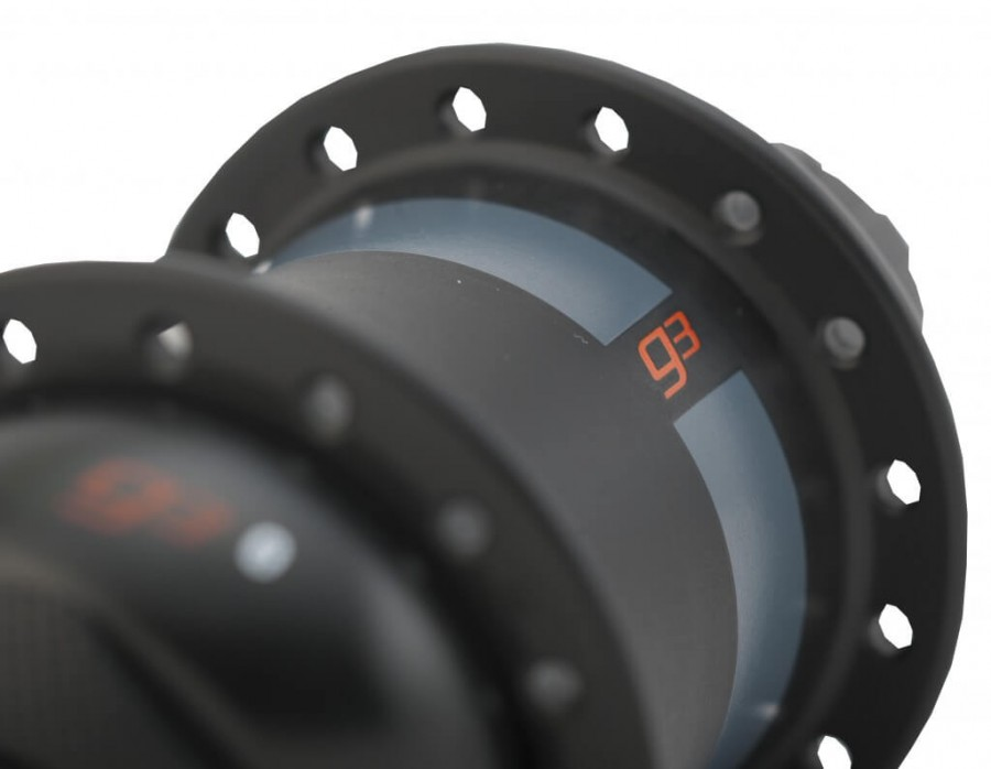 Close-up of PowerTap G3 Hub Power Meter
