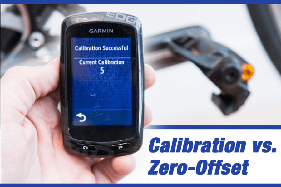 Calibration and zero offset