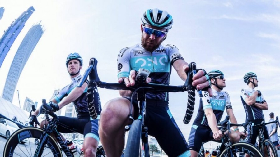 One Pro Cycling Team testing the Verve InfoCrank Power Meter