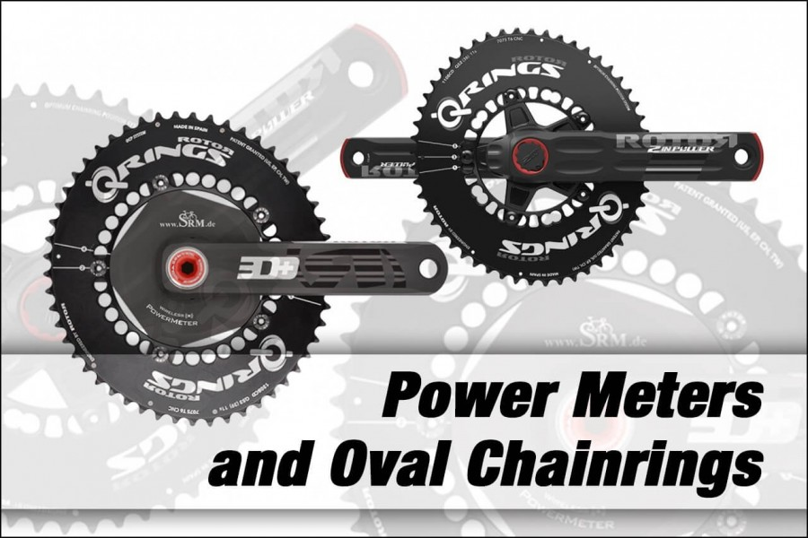 power meters oval chainrings