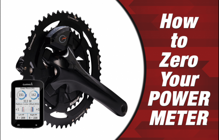 How to zero your power meter