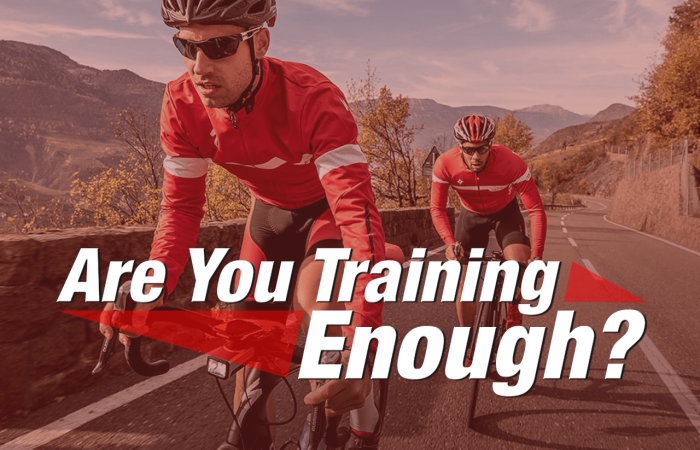 Are You Training Enough banner image