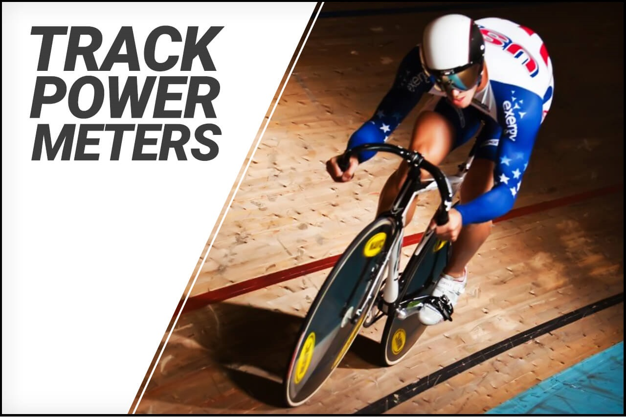 Picture of Nate Koch using track power meters
