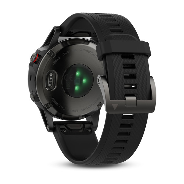 Garmin fenix 5 GPS Watch - Slate Grey/Black Band