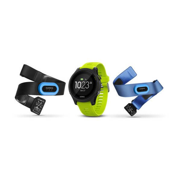 Garmin Forerunner 935 GPS Watch - Tri-bundle (Black with Yellow Straps)