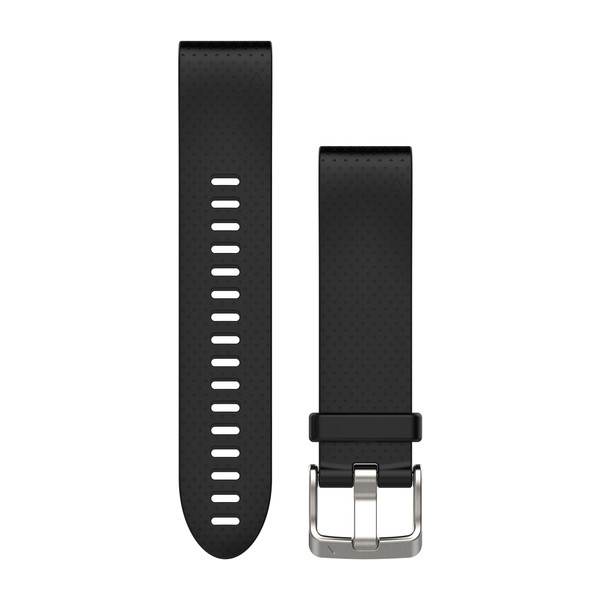 Garmin QuickFit Watch Bands - Black Silicone