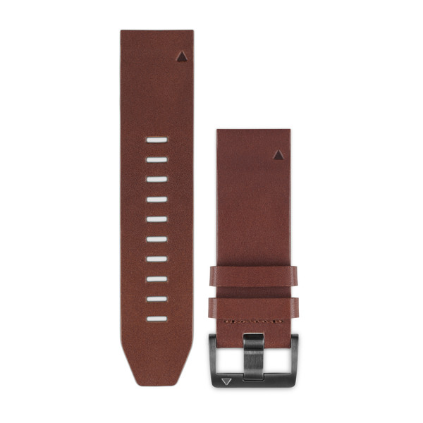 Garmin QuickFit Watch Bands - Brown Leather