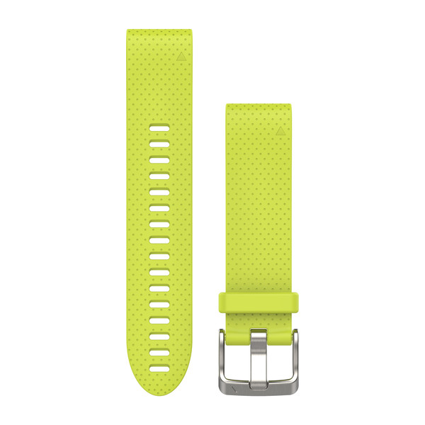 Garmin QuickFit Watch Bands - Amp Yellow Silicone