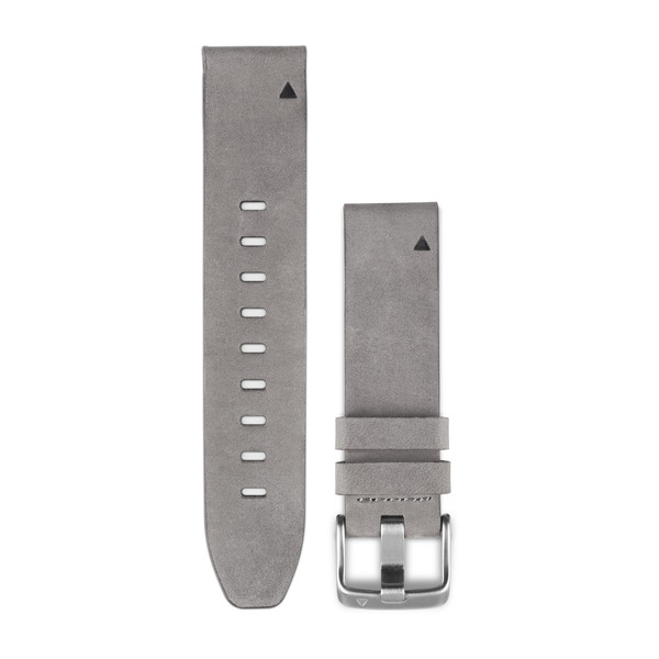 Garmin QuickFit Watch Bands - Gray Suede Leather