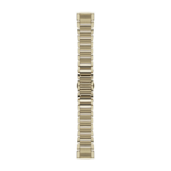 Garmin QuickFit Watch Bands - Champagne Stainless Steel