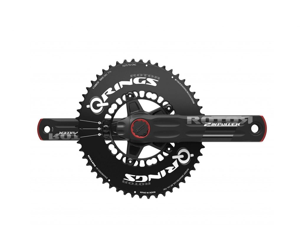 ROTOR 2INpower with oval chainring