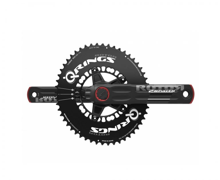 2INpower ROTOR Power Meter with oval chainring