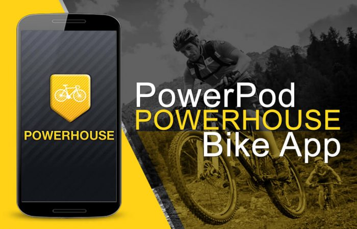PowerPod PowerHouse Bike App banner