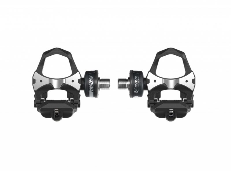 Top view of Favero Assioma DUO Power Meter Pedals