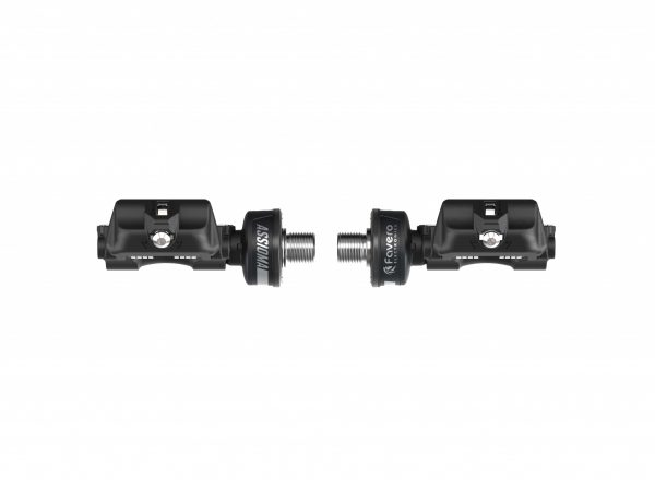 Rear view of Favero Assioma Power Meter Pedals