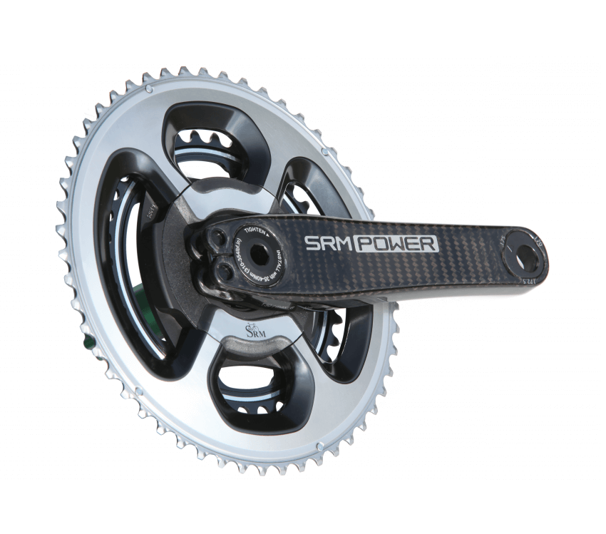 Another image of SRM Origin Carbon Power Meter at an angle