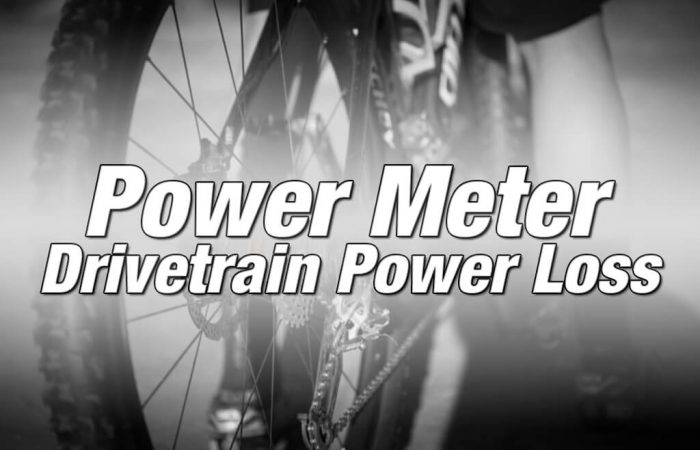 Power Meter Drivetrain Power Loss