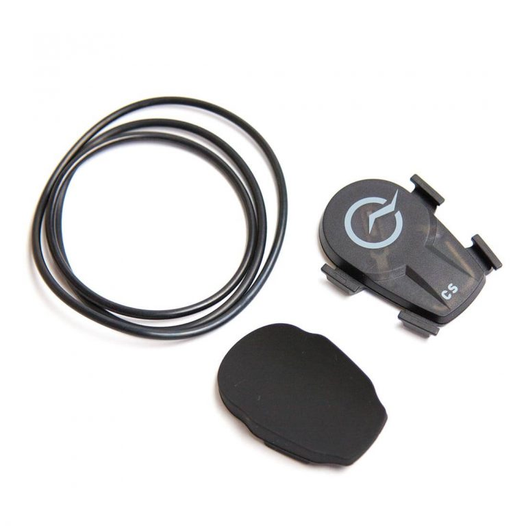 Image of PowerTap Magnetless Speed or Cadence Sensor including bands and rubber backing