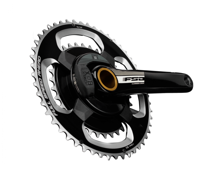 Image of the FSA Power Meter from an angle