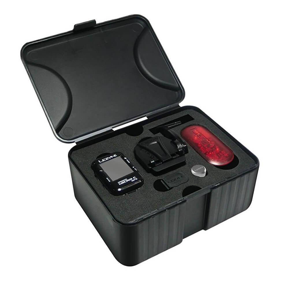 Lezyne Micro GPS Bundle with HR and Speed Cadence Sensor