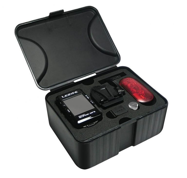 Lezyne Super GPS Bundle with HR and Speed Cadence Sensor