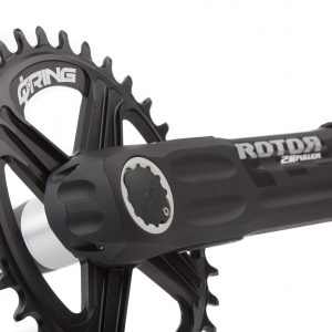 ROTOR 2INpower MTB power meter close up