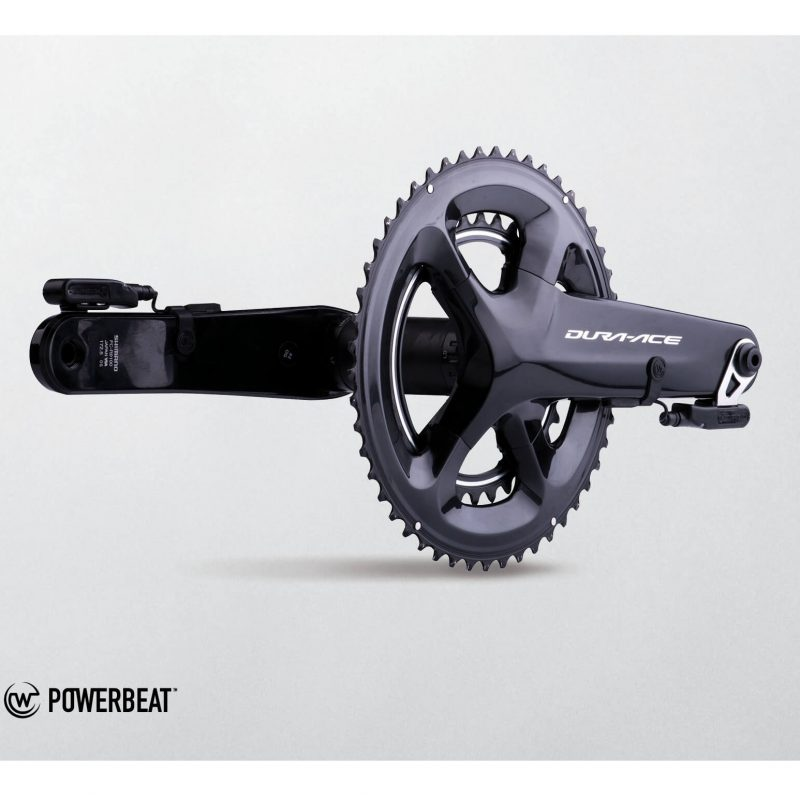 WATTEAM POWERBEAT Power Meter on a DURA-ACE crankset