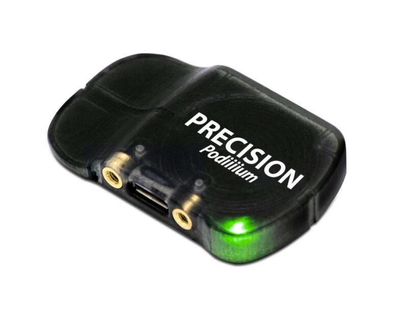 4iiii Dual-Sided Power Meter sensor with green light on