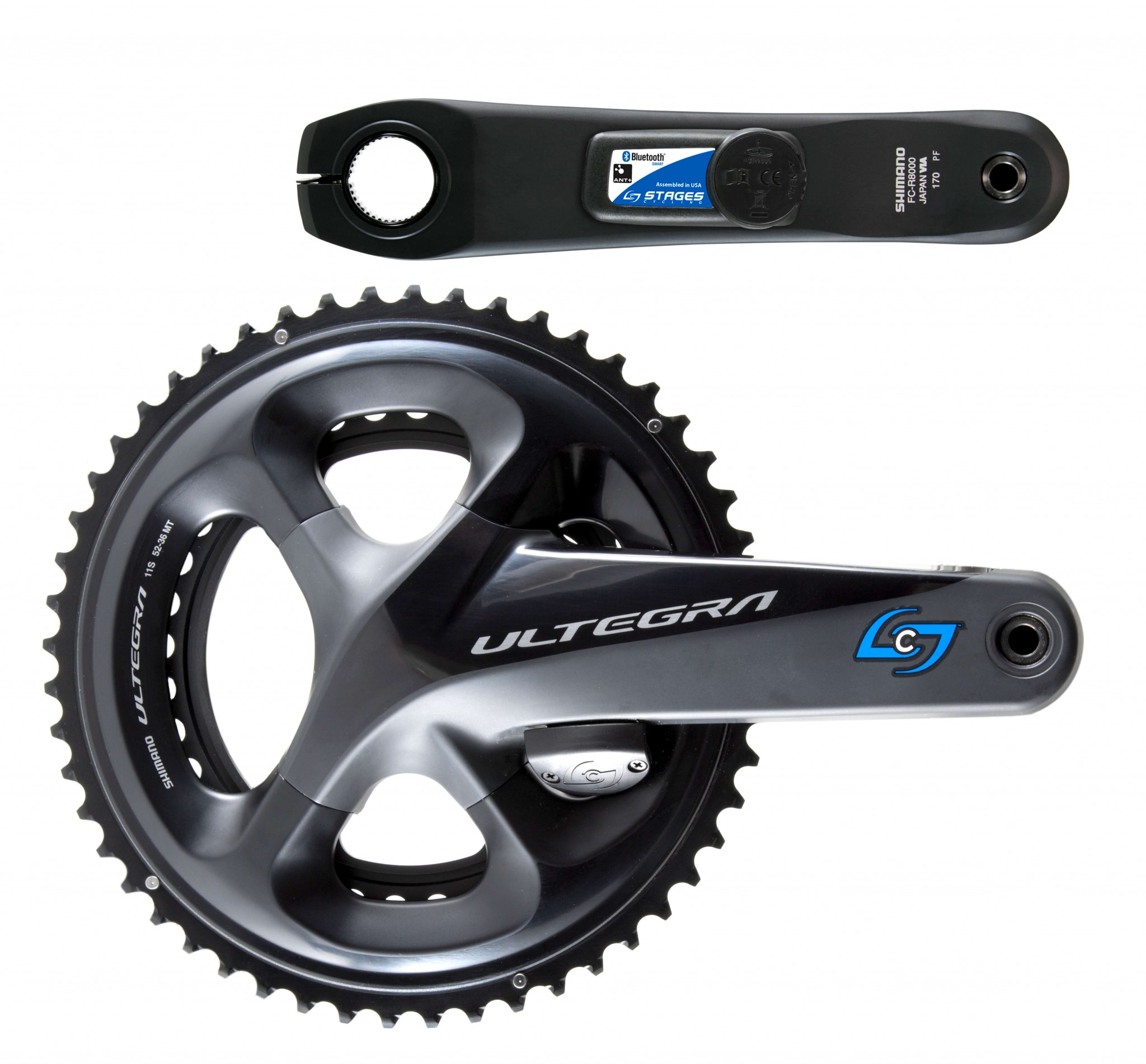 Stages Shimano Ultegra R8000 Dual-Sided Crankset