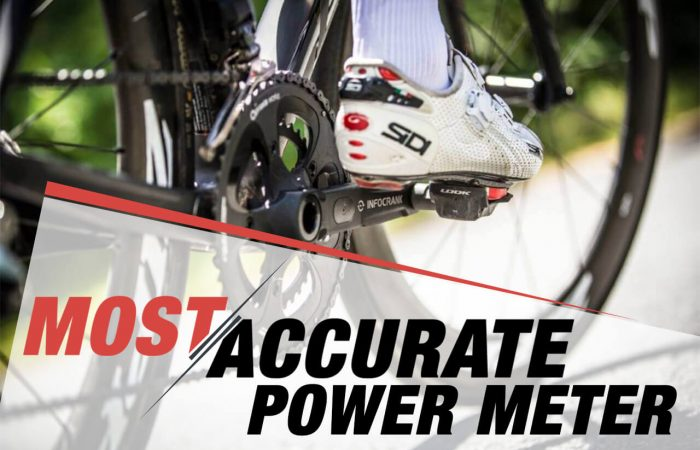 Most Accurate Power Meter banner image showing a Verve InfoCrank