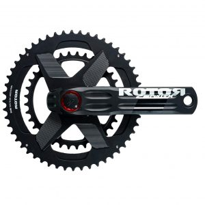 ROTOR 2INpower DM Road Power Meter with round rings