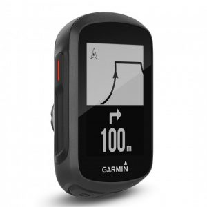 Garmin Edge 130 view from front and side