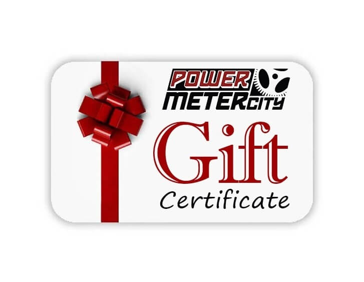 Power Meter City Gift Certificate