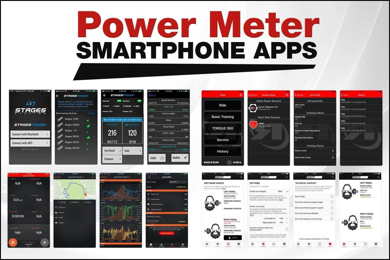 Power Meter Smartphone Apps Banner Image