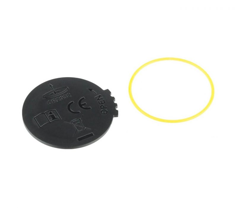 Stages replacement battery door with o-ring