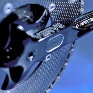 Verve InfoCrank Track Power Meter with carbon chainrings