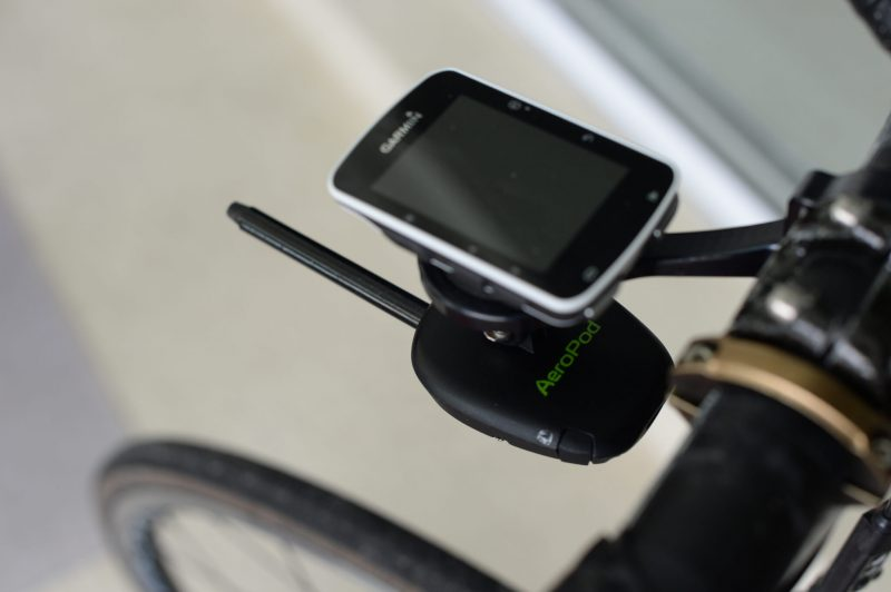 Aeropod Power Meter with Garmin Combo Road Mount