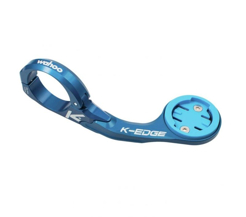 K-EDGE Wahoo ELEMNT Mount - Blue