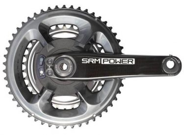 SRM Origin Power Meter with DA 9100 Chainrings