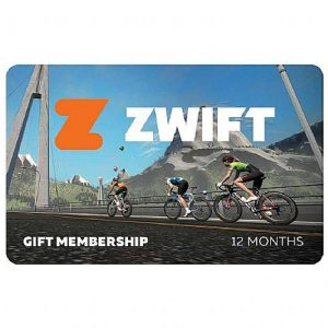 Zwift Membership Gift Card - 12 Months