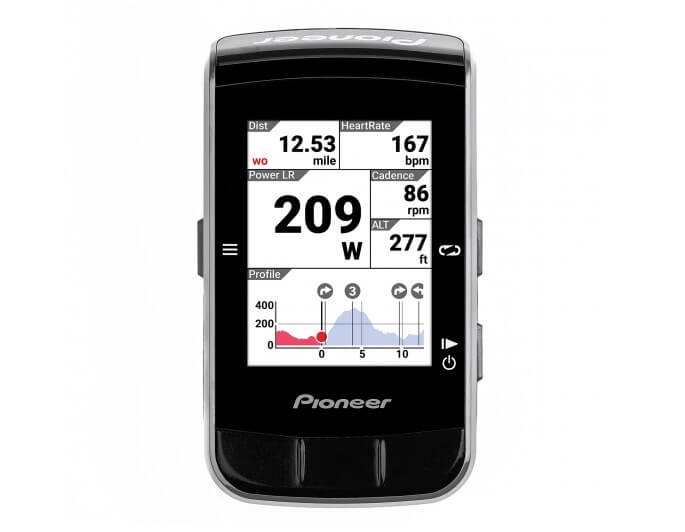 Pioneer Color GPS Cycle Computer