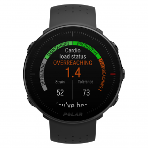 Polar Vantage M Multisport Watch cardio load status