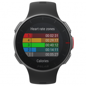 Polar Vantage V Pro Multisport Watch heart rate zones