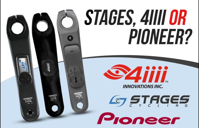 Banner image for our Stages vs 4iiii vs Pioneer Crank Arm Power Meter article
