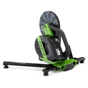 Rear left view of Kinetic R1 Direct Drive Smart Trainer